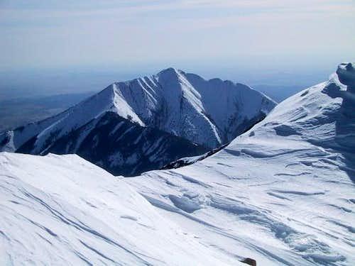 East Spanish Peak seen from...