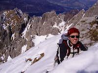 Exiting on the ridge