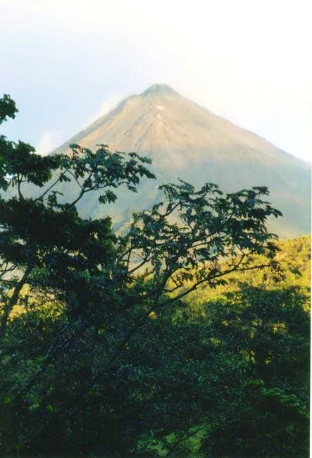 Arenal from the east.