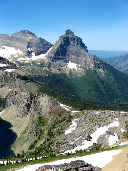 Kintla and Kinnerly Peaks