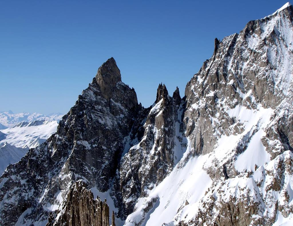 Image to Views of Aiguille Noire de Peuterey