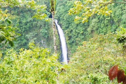 Fortuna Waterfall on the...
