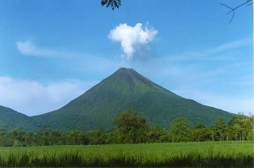 Arenal from the west