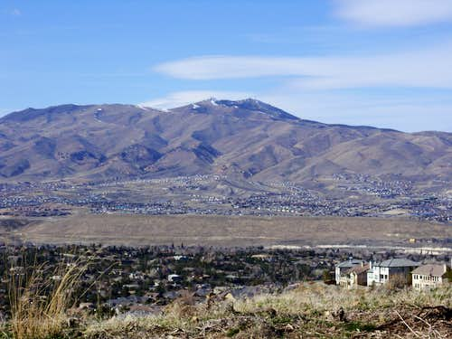 Peavine Peak wide view