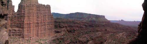 Fisher Towers Panorama