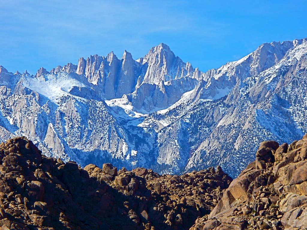 Mount Whitney Massif