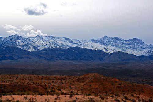 The Virgins Mountain Range