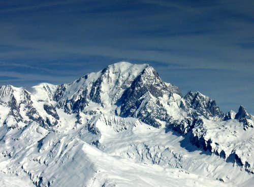 Mont blanc (4807m) South Face