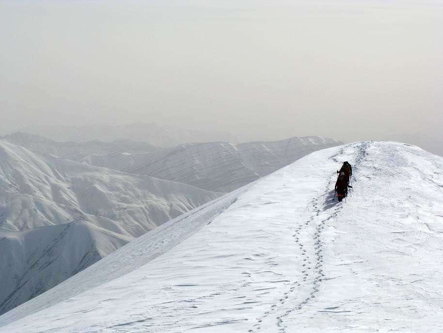 On Karchan Peak