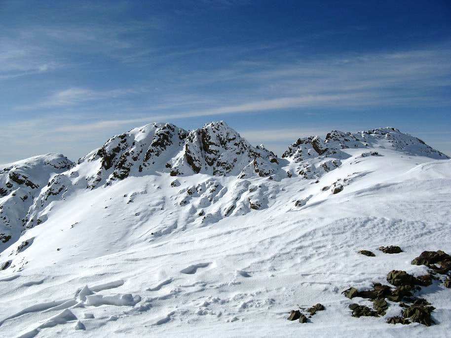 North Spilet peak