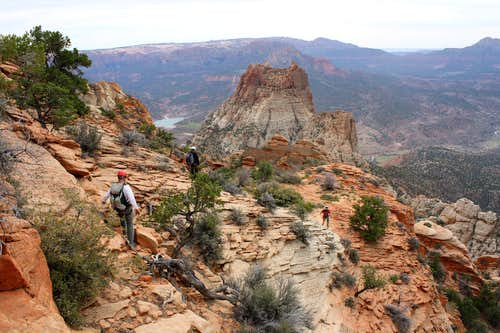 Descending The Watchman