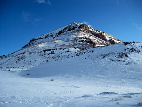 Dome Peak in early spring