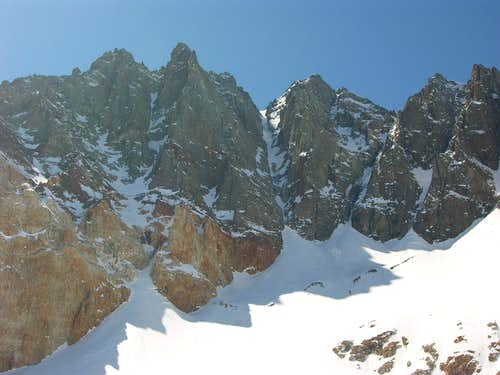 East Couloir Conditions - 3/28/09