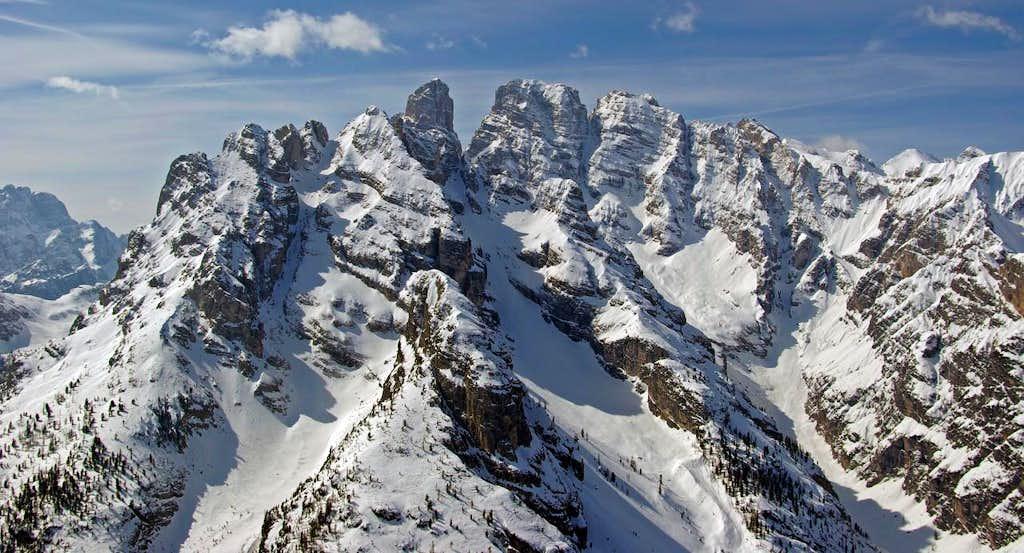 Views from Monte Piana - Cristallo