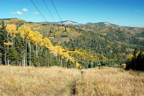 Fall, Pajarito Mountain