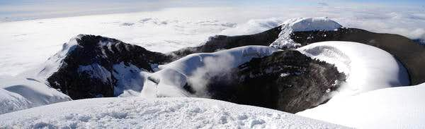 Cotopaxi - crater summit