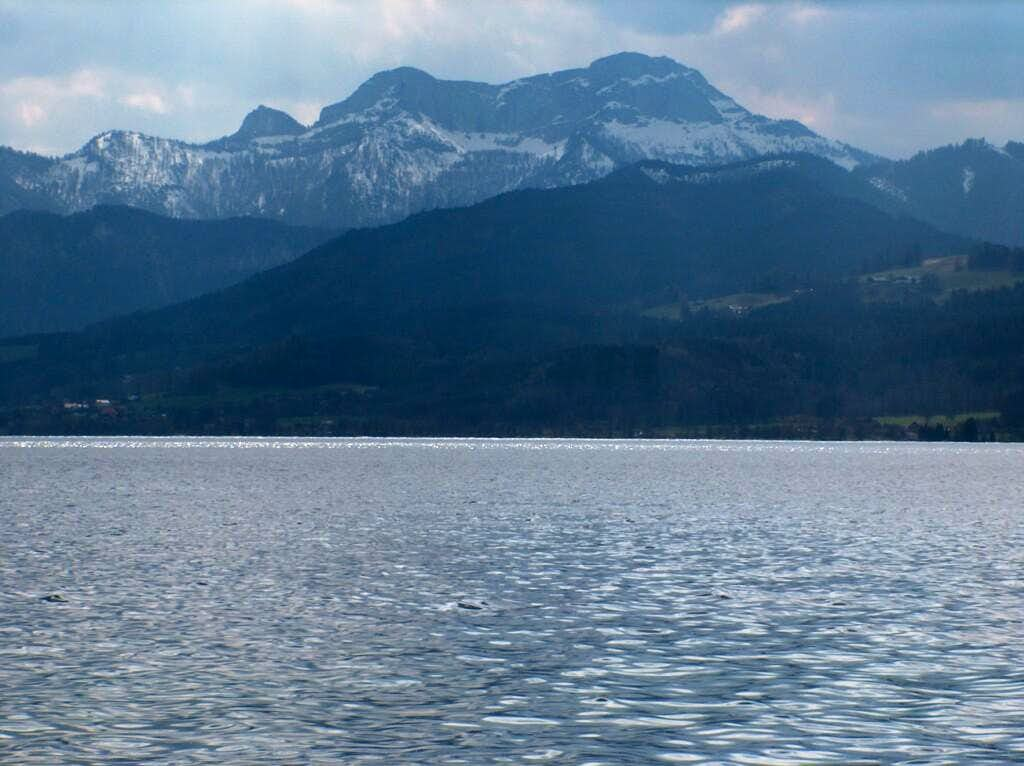 Attersee, view to the Schoberstein