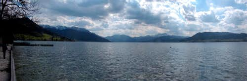 Attersee, panorama...