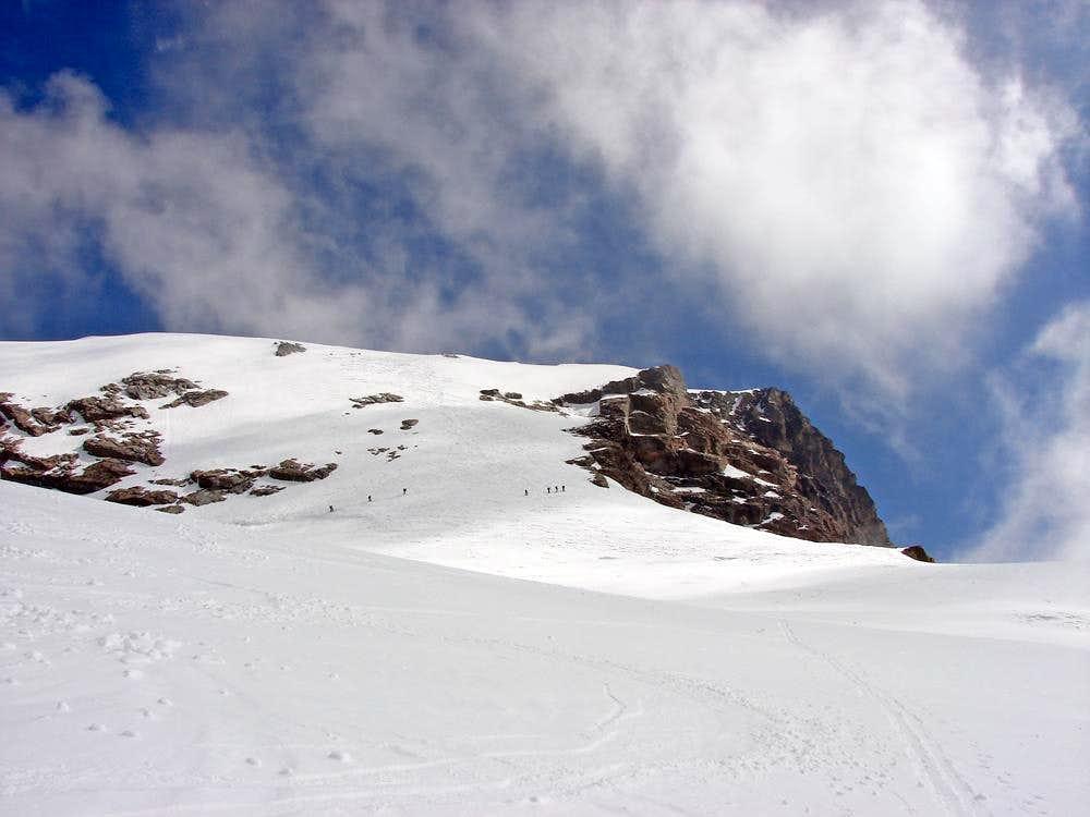 Normal route to Roccia Nera