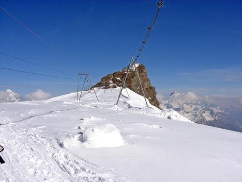 Klein Matterhorn (3883m)