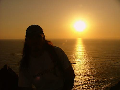 Sunset from El Morro. Arica, Chile.