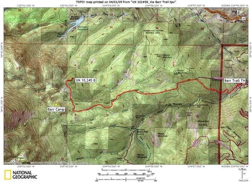 Via Barr Trail Climbing Hiking Amp Mountaineering