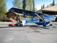 Talkeetna international airport...really