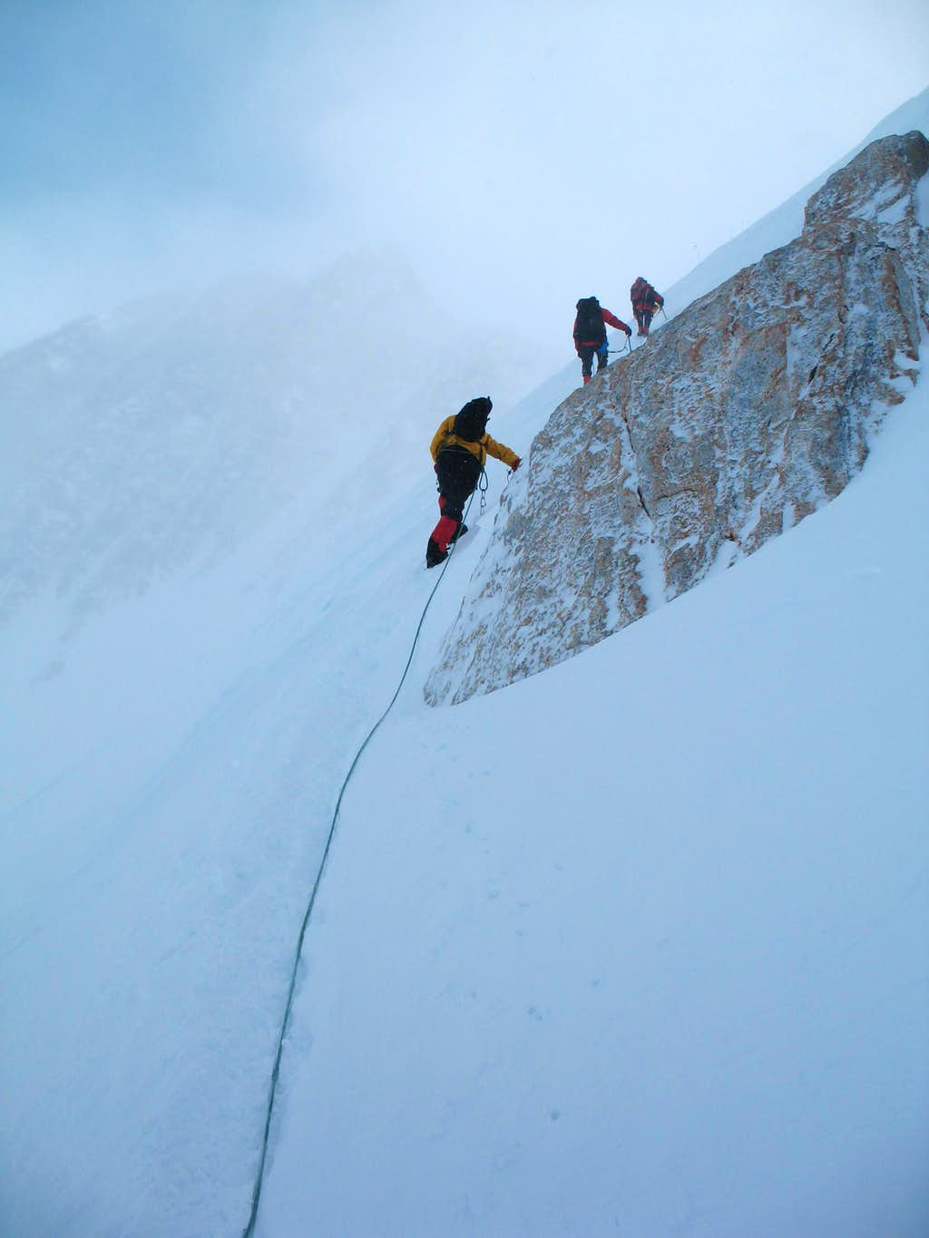 Heading to the summit