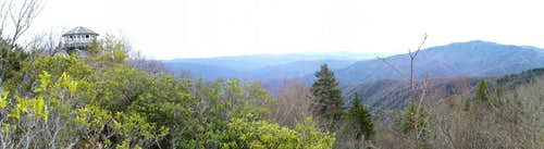 Panoramic View from Cammerer