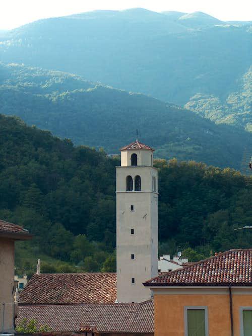 The Italian Alps from Vittorio Veneto