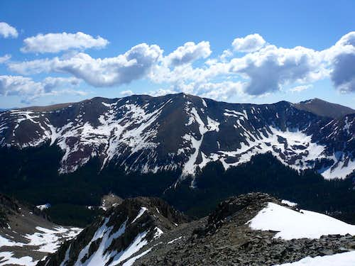 Wheeler Peak from Lake Fork Peak