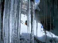 On the Gyabrag Glacier