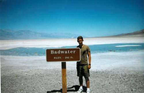 Badwater- Lowest Point in North America