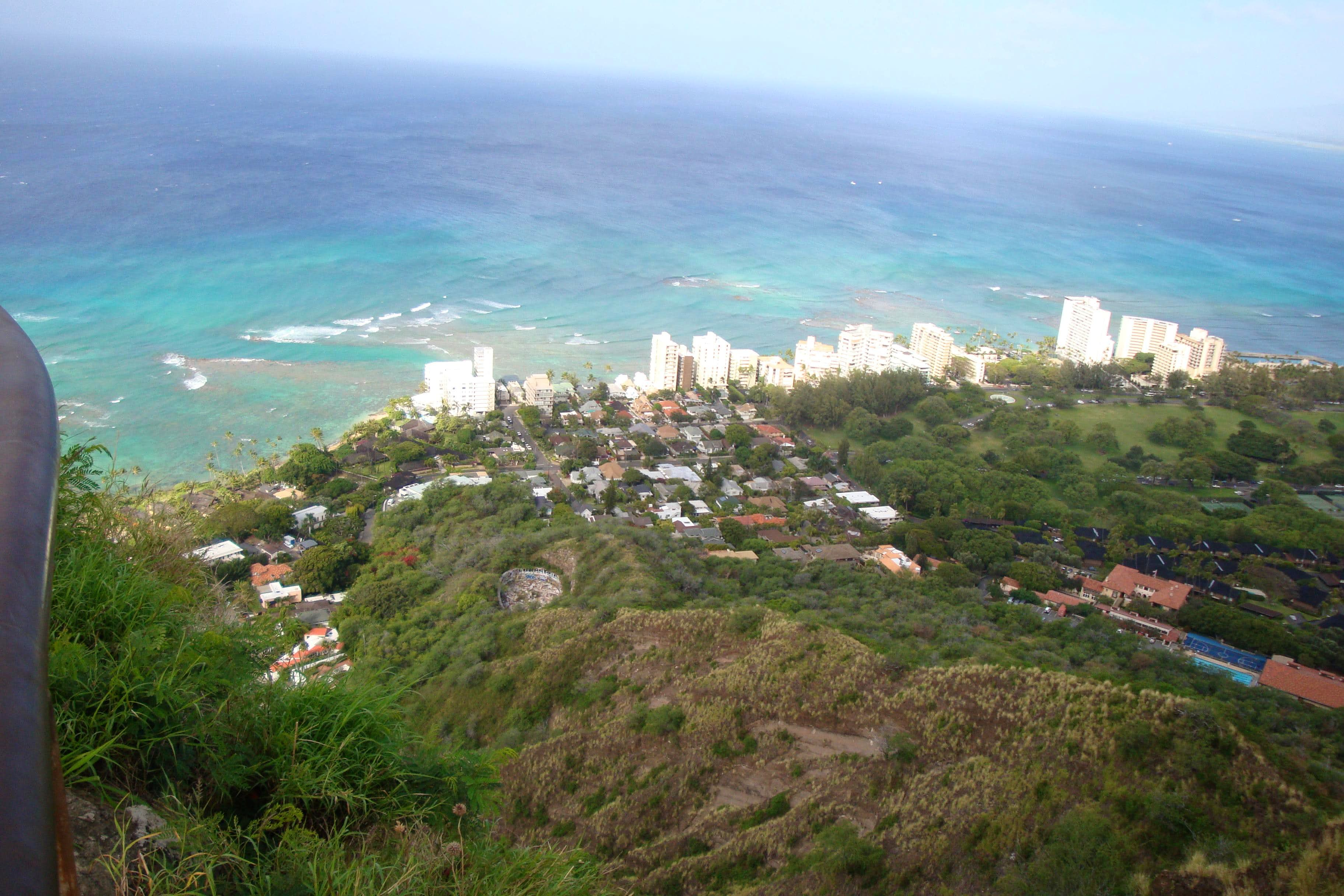 April on Diamond Head