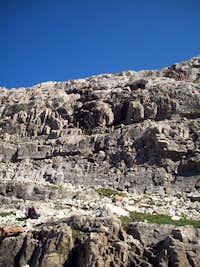 Cliffs on Sofa's (alternate) Route