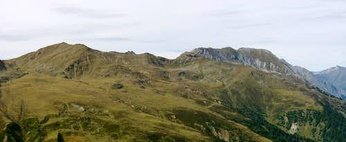 Äußerer Nockenkopf / Dosso di Fuori and Piz Lad