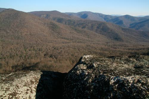 View from Byrd\'s Nest Crags
