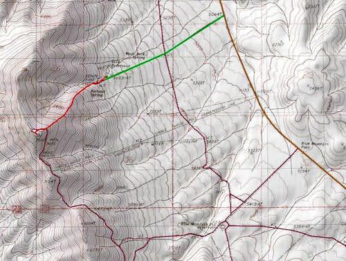 Gild Reservoir Route