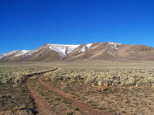 Gild Reservoir Winter Route