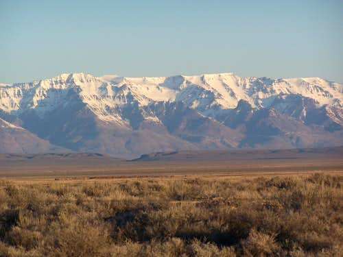 Steens Mountain East Face