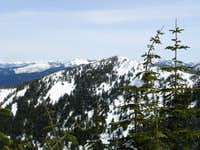Dixie Peak, From Blowdown Summit