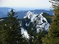 Mount Si From C.L.M. Summit