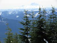 Mount Rainier, From Blowdown
