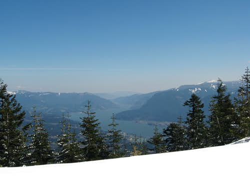 The Columbia River Gorge from Table Mt.