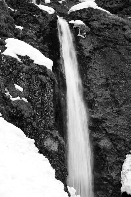 Siklawica waterfall