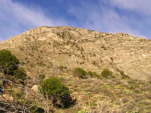 First part of Guadalupe Peak...