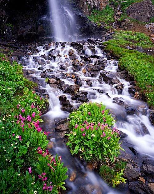 Porphyry Basin falls