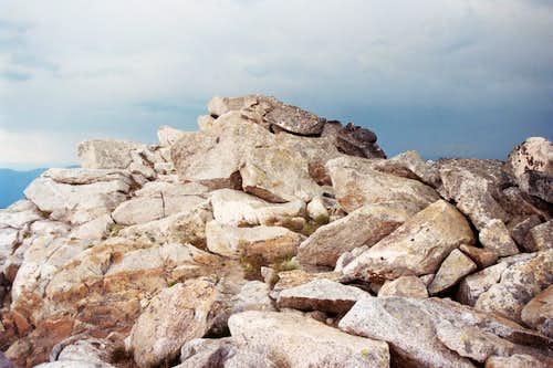 Summit of Peak 7,623 - Selway Crags