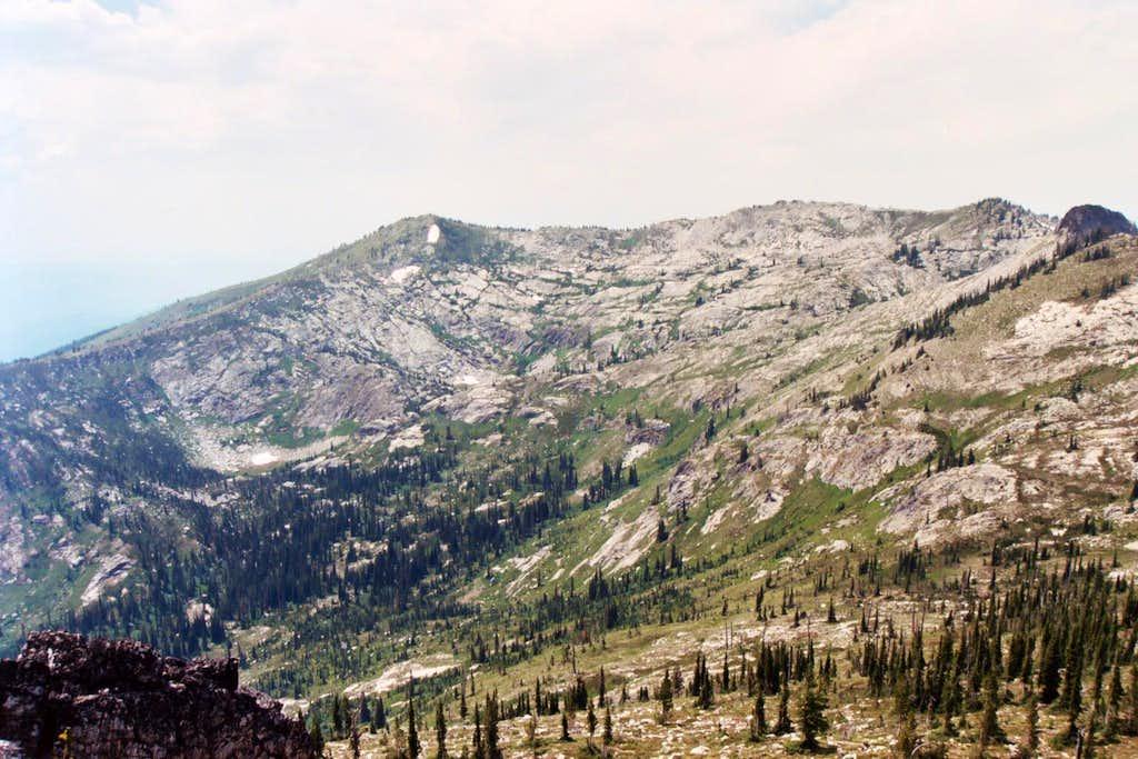 East side of Pk 7,623