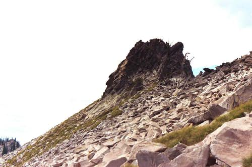 Small Crag on 7,623